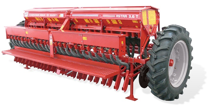 Сеялка зернотукотрявяная ASTRA 3,6T