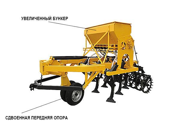 Сеялка-культиватор стерневая СКП 2,1Б