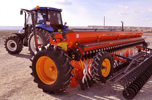 Сеялка зерновая механическая с подсевом трав СЗМТ-400Т