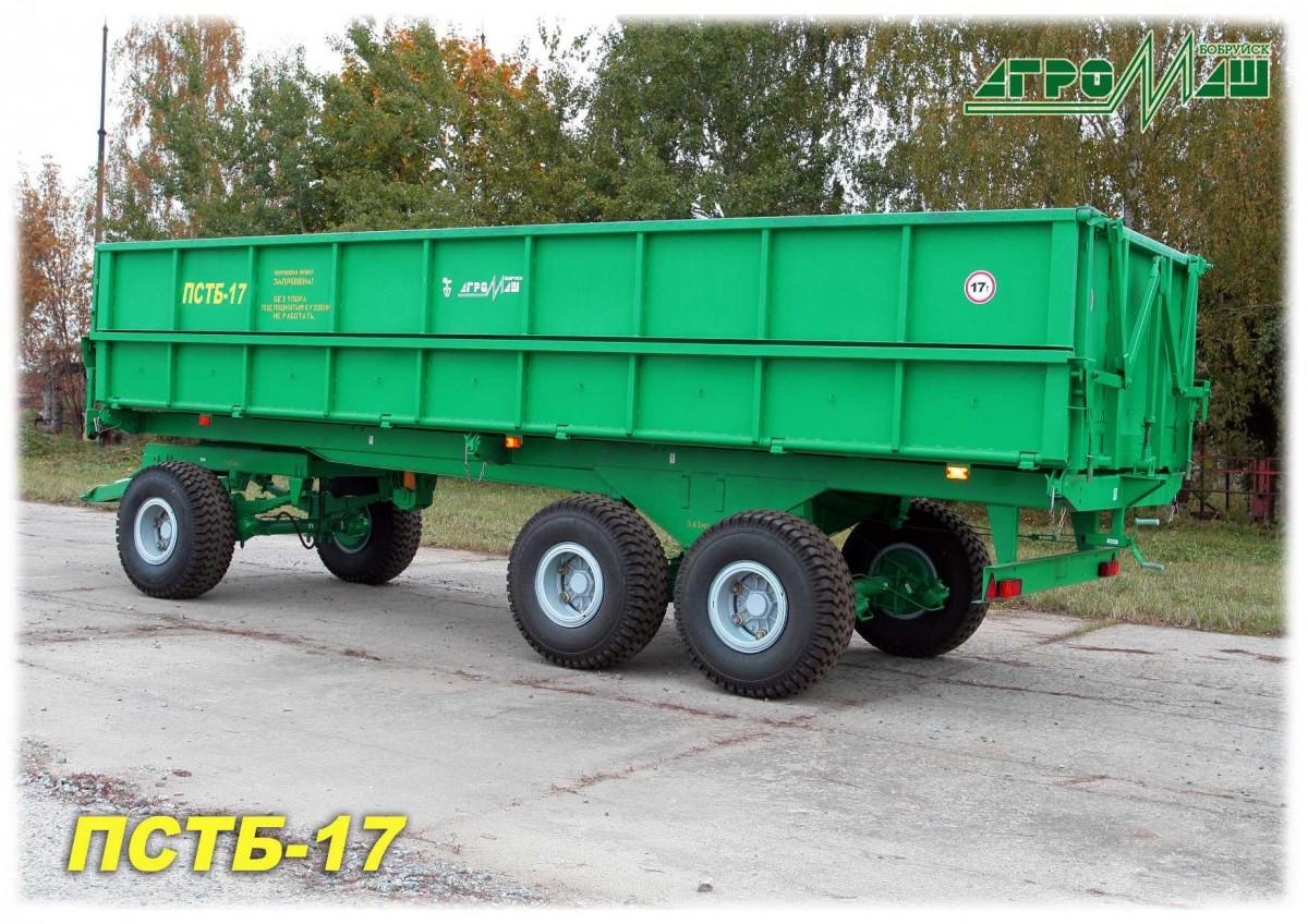 Прицеп самосвальный тракторный ПСТБ-17